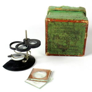 Bausch & Lomb, The American Agriculturist Microscope